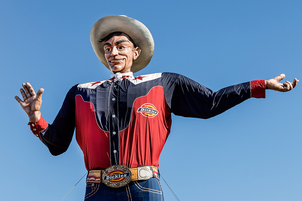 Big tex this is america blog for How big is america